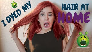 I Dyed My HAIR AT HOME| Ana Grajales & Almita