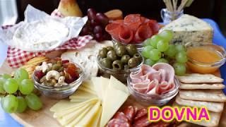 Оформление сырной тарелки от Dovna Enterprises