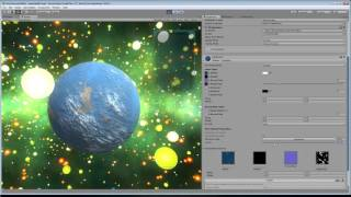 Procedural Planet using Substance Designer and Unity