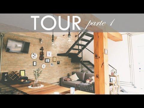 TOUR NA CASA - estilo rústico, industrial e casa de vó - PARTE 1 | por Isa Ribeiro - Na nossa vida
