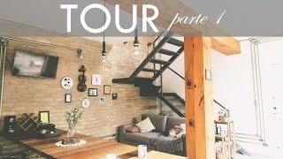 TOUR NA CASA - estilo rústico, industrial e casa de vó - PARTE 1   por Isa Ribeiro - Na nossa vida