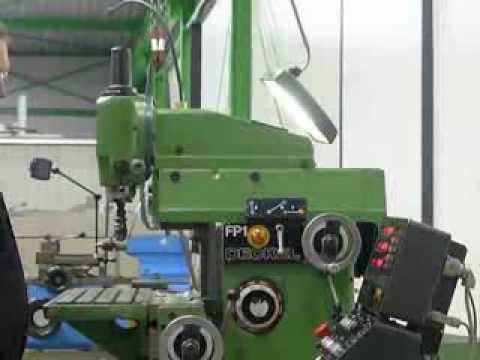 deckel maho fp1 fraesmaschine fp 1 for sale youtube
