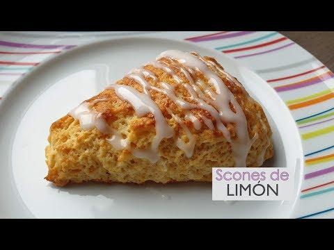 Scones de limón - receta fácil y deliciosa