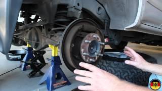 1996-2002 Toyota 4Runner Rear Brake Drum Shoe Replacement