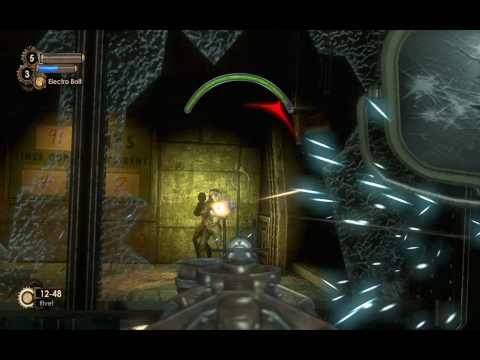 """Bioshock 2"", full walkthrough + diaries, Mission 2 - The Atlantic Express, Part 1/2"