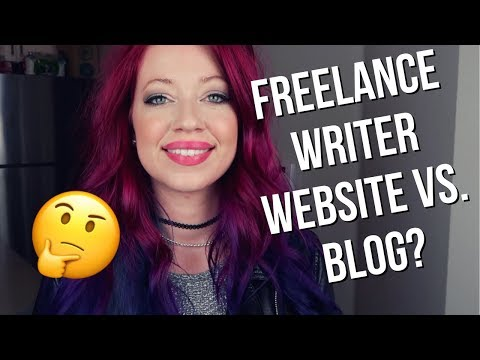 Freelance Writer Website Vs. Blog: Should They Be Separate Websites?
