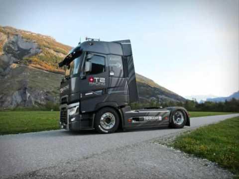 tuning de camion renault t 2016 youtube. Black Bedroom Furniture Sets. Home Design Ideas
