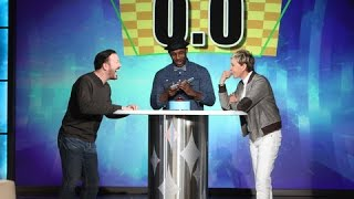 ricky gervais playing 5 second rule at the ellen degeneres show