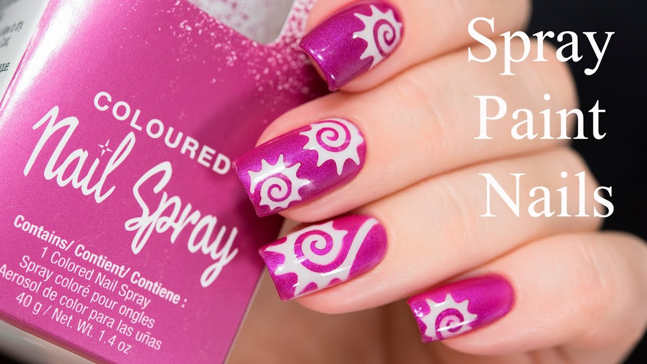Spray Paint Nails - YouTube