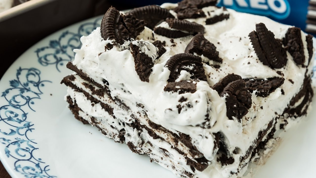 Easy Oreo Icebox Cake Recipe