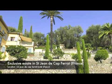0268 A fantastic Villa in St Jean de cap Ferrat