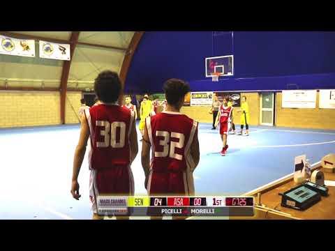 UNDER 15 2018 Polis Senago Vs ASA Basket Cinisello
