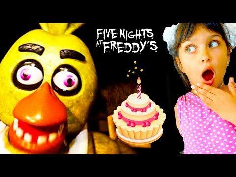 Кто ЧИКЕ испортил День РОЖДЕНИЯ? АНИМАТРОНИКИ НОВЫЙ ФНАФ FNAF Creepy Nights At Freddy's Валеришка