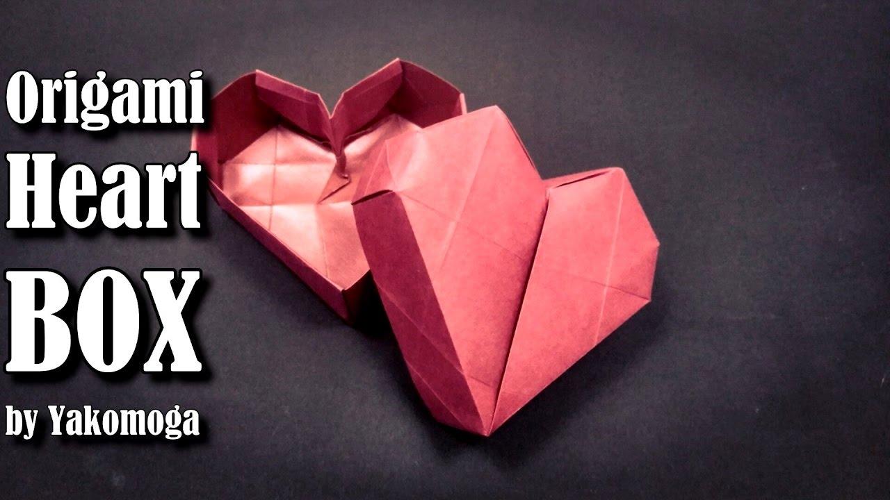Origami box heart 3d origami easy tutorial origami gift box origami box heart 3d origami easy tutorial origami gift box jeuxipadfo Gallery