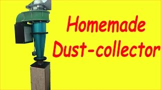 Homemade 3hp Cyclone Dust Collector