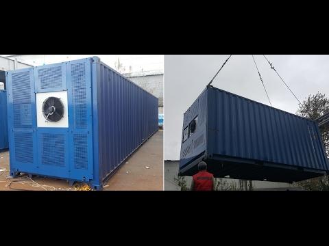 видео: Купить морской контейнер рефрижератор. Рефконтейнер 20 футовый