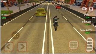 "Highway Rider Bike Racing ""Night"" Crazy Bike Traffic Race - Android Gameplay FHD #3 screenshot 3"