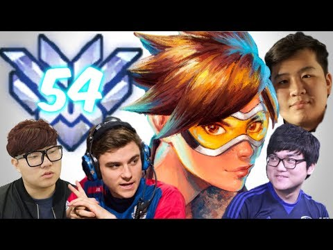 Top 500 Overwatch w/ Tracer (58% Kill Participation) Feat: Pine, Calvin, Jake, Hagopeun, Nevix