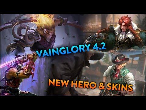 Vainglory 4.2 | Skins & New Hero Caine