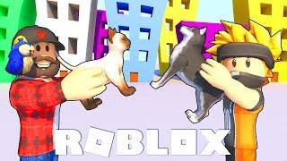 NOWY NAJPOPULARNIEJSZY SYMULATOR! *koty czy psy*? - ROBLOX