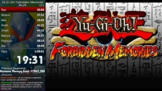 Yu-Gi-Oh! Forbidden Memories Any% Speed Run in 1:32:56