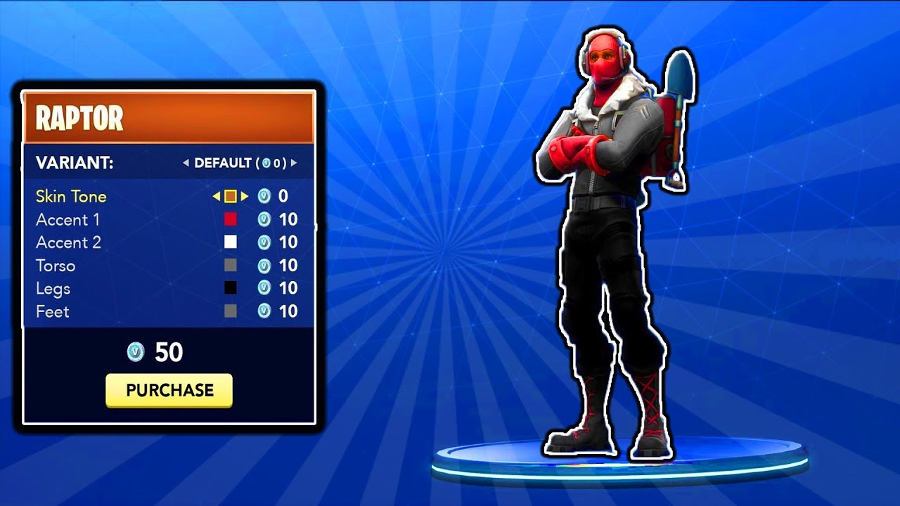 How To Customize Character In Fortnite Character Customization In