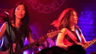 "Shonen Knife playing ""Ramen Rock"" live at Brudenell Social Club in ..."
