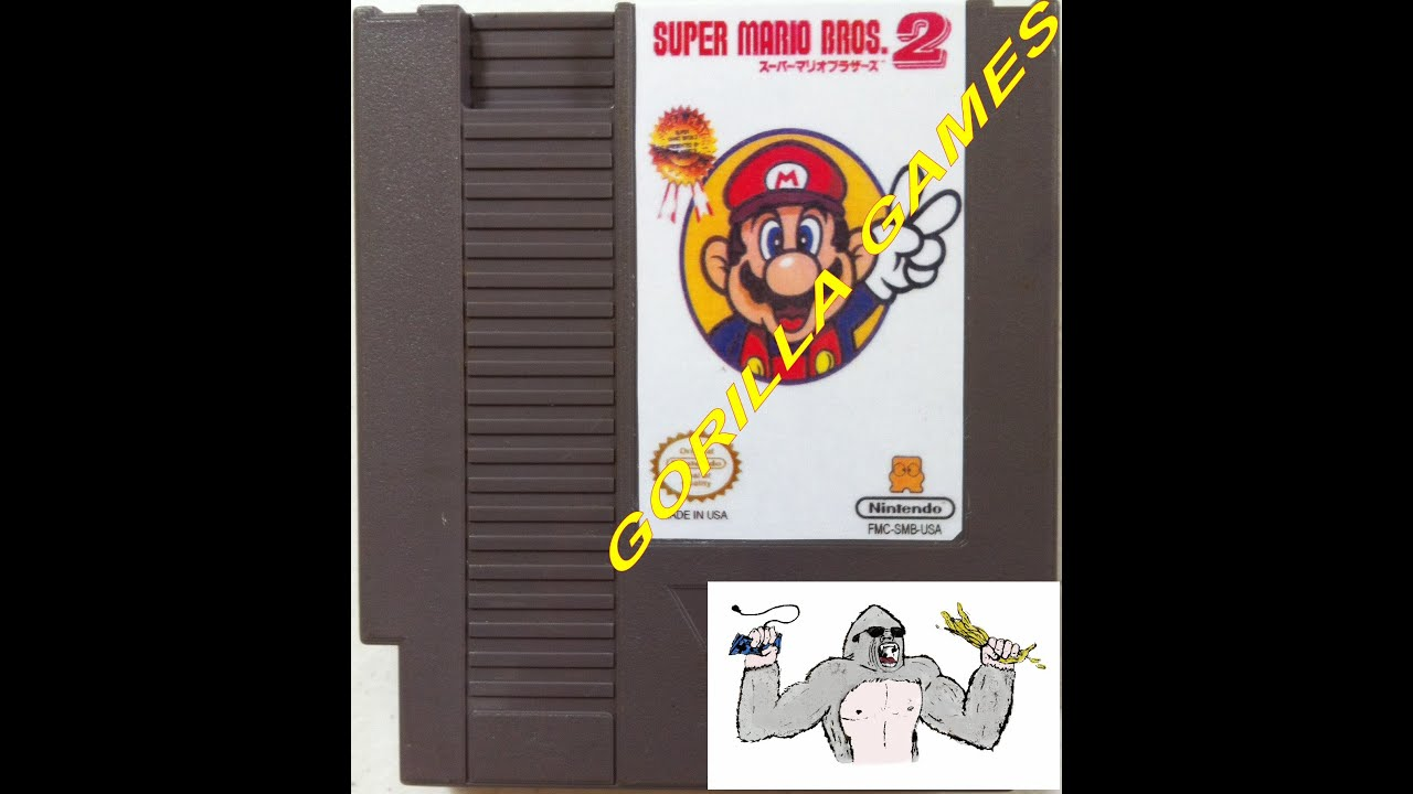 Super Mario Bros 2 Japan Nes Reproduction Gameplay Youtube