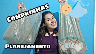 Preparativos Chá de Fraldas Econômico - Victoria Sales