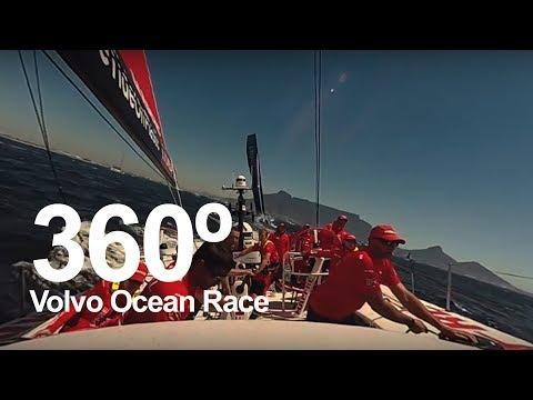 Watch the Cape Town In-Port Race in 360 | Volvo Ocean Race