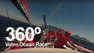 Watch the Cape Town In-Port Race in 360°   Volvo Ocean Race