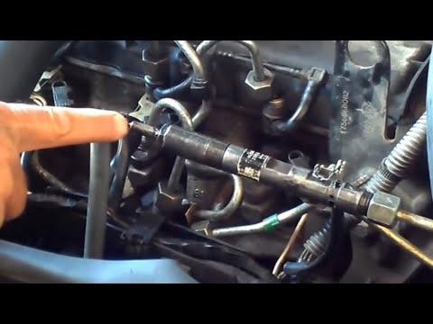 Diagnostic injecteur diesel dci DEHORS moteur_ خارج محرك dci تشخيص البخاخ