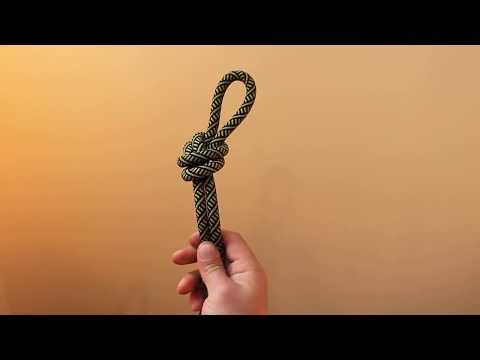 """Как завязать узел """"проводник"""""""