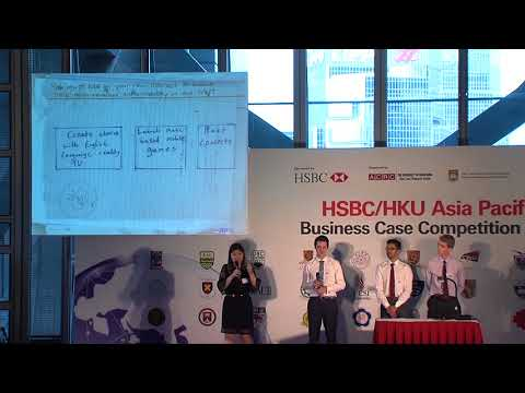 2017 Round 4 University of Auckland - HSBC/HKU Asia Pacific Business Case Competition