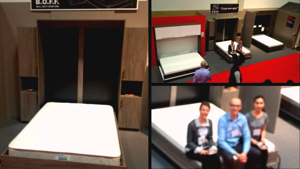 Boff Wallbed Furniture At The National Home Show 2016 Youtube