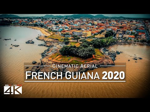 4K Drone Footage FRENCH GUIANA (CAYENNE · SAINT-LAURENT-DU-MARONI) [DJI Phantom 4]