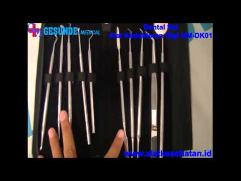 Dental Set Alat Kedokteran Gigi Gm Dk01 Wwwalatkesehatanid