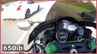 Supercharged Ninja H2 DESTROYS Twin Turbo 370Z, Ferrari, Lambo & ZX-10R!