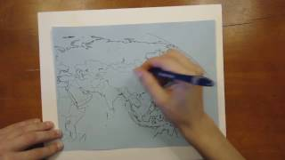 Completing an Outline Map - Asia
