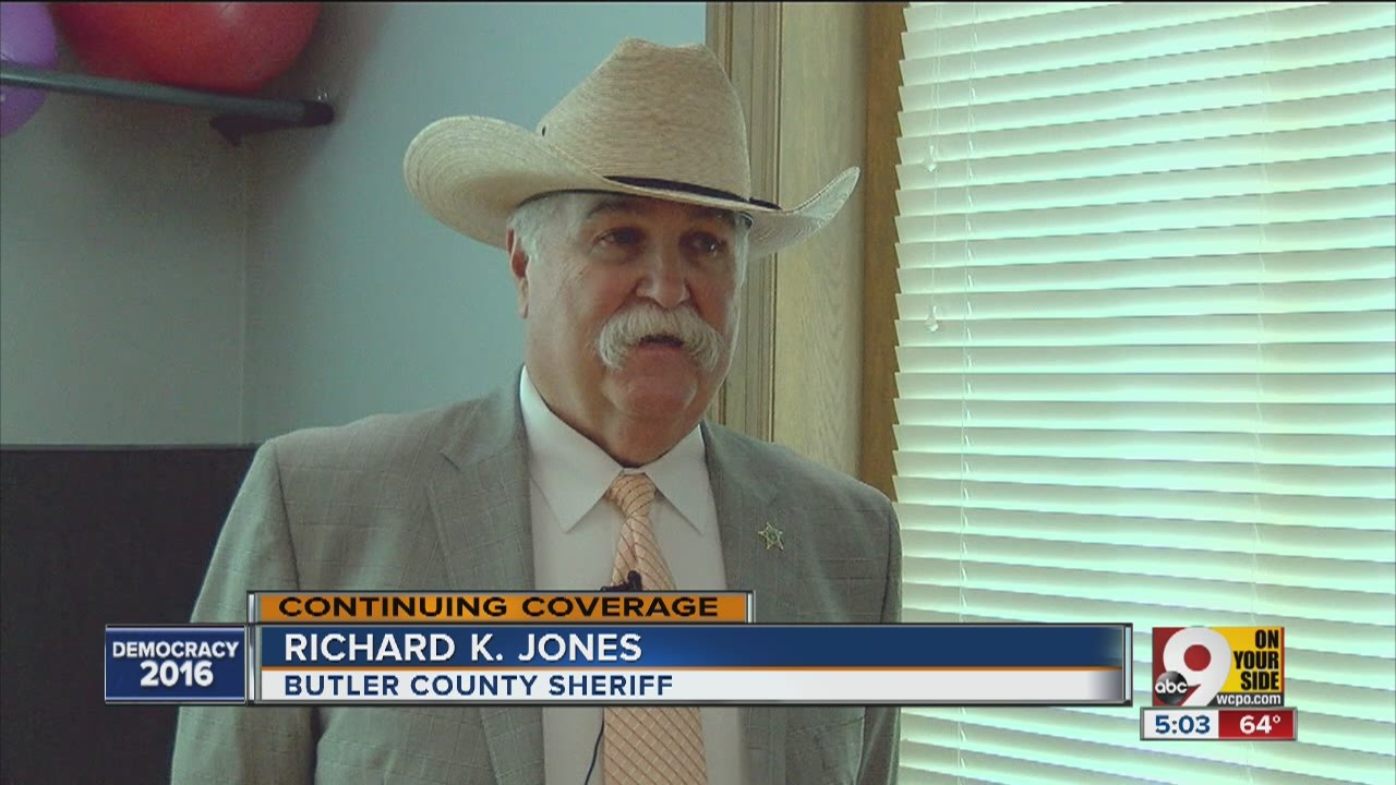 Butler County Sheriff Richard Jones to speak at Trump rally