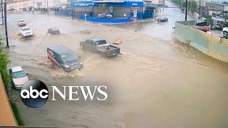 Downpours across California continue to create hazardous travel conditions