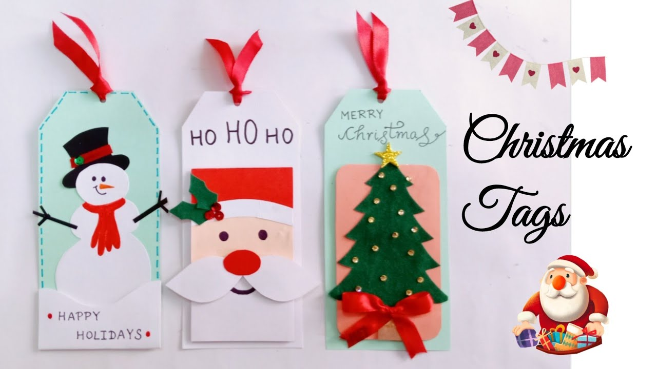 Christmas Cards And Gift Tags Handmade Christmas Gift Tags Christmas