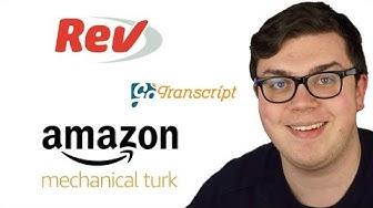 900 Euro/Monat Nebenverdienst über Gengo, Rev, Textbroker & Amazon Mechnical Turk aufbauen