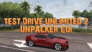 TDU 2 Unpacking - Test Drive Unlimited 2 modbar machen [Tutorial | deutsch]