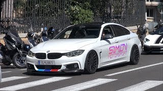 BMW 435i Gran Coupe Stage 2 Simon Motorsport - LOUD POPS & BANGS!