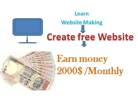 create a website for earn money part 1 In Hindi || Create your own website Free