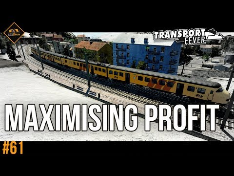 Reversing profit problems Transport Fever The Alps gameplay #61