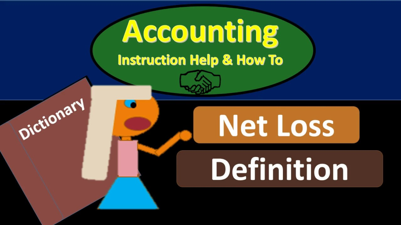 net loss definition what is a net loss youtube