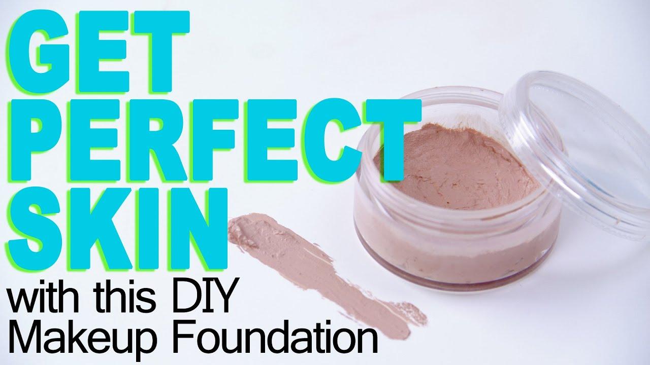 how to make diy foundation