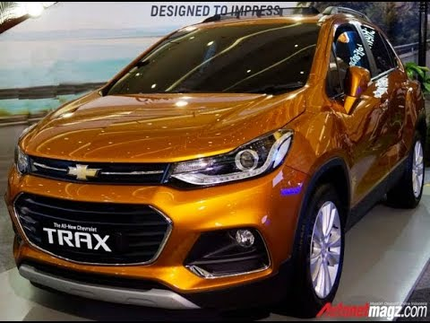 Review Chevrolet Trax Facelift 2017 Hd Youtube